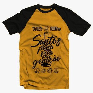 Camiseta Baby Look Young Free '19