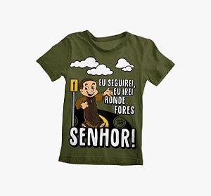 Camiseta Infantil Eu Seguirei