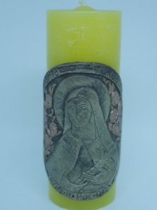 Vela Artesanal- Santa Teresinha do Menino Jesus