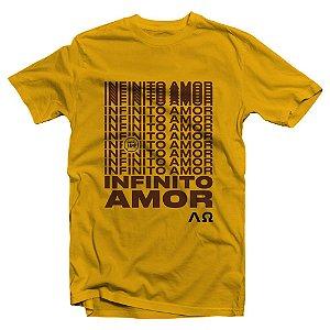 Camiseta Infinito Amor  (Nova)
