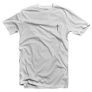 Camiseta Baby Look feminina manga curta - Eu vou Crer em Ti