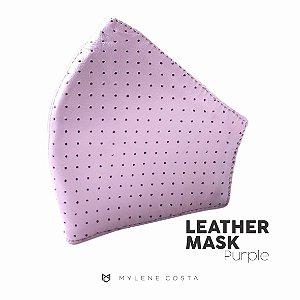 Máscara de Couro - Purple 02