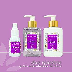 Duo Violeta (Loção Hidratante + Sabonete Líquido) ganhe Brinde