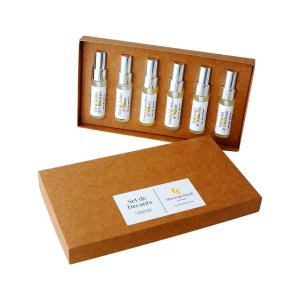 Set com 6 Decants EDP 15ml