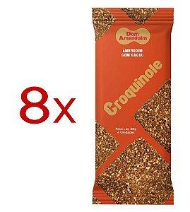 Croquinole de Amendoim com Cacau - Caixa 320g (8 pacotes de 40g)