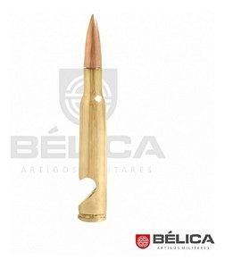 Abridor De Garrafa Em Metal Projétil .50 Dourado - Bélica