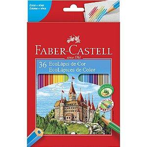 Lápis de Cor 36 cores sextavado- Faber Castell