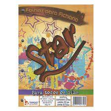 Bloco Para Fichário 96 Folhas Star Branco - Tamoio