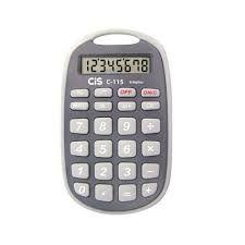 Calculadora de Bolso C115 Com 8 Dígitos | Cis
