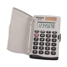Calculadora bolso 8 digitos (mx-c80)  Maxprint