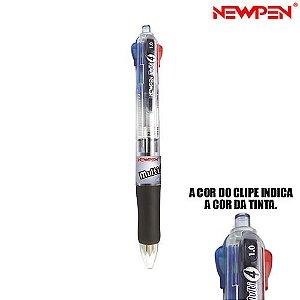Caneta multi 4 Cores Newpen BP-800