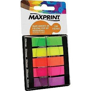 Marcadores de Pagina Pop-up Removíveis - Maxprint