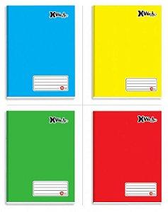 Caderno Brochurão X-Write 96 Folhas Máxima