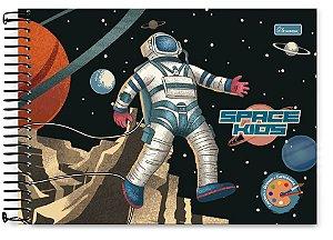 Caderno de Cartografia e Desenho Space Kids 80 fls Cadersil