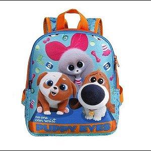 Mochila Infantil Dermiwil Pets Puppy Eyes Azul-37303