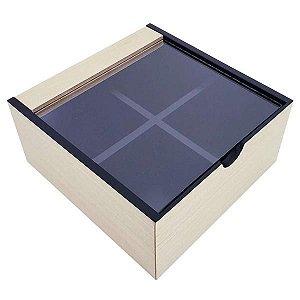 caixa porta chás bravo 4N