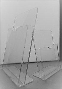 Display de Mesa em Acrilico para Material A4