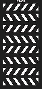 PAINEL PETRA DECORATIVO - ELEMENTO VAZADO - MDF CRU - 0,90X1,80 CM