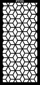 PAINEL PETRA DECORATIVO - ELEMENTO VAZADO - MDF CRU- 0,90X1,80 CM