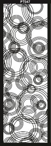 PAINEL PETRA DECORATIVO - ELEMENTO VAZADO - MDF CRU- 0,90X2,70 CM