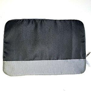 Capa de Notebook - Preta Detalhe Cinza