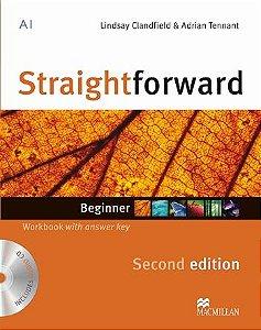 STRAIGHTFORWARD 2ND EDIT.WORKBOOK W/AUDIO CD-BEG