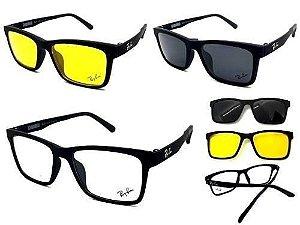 Armação Óculos RB2088 2 Clip On