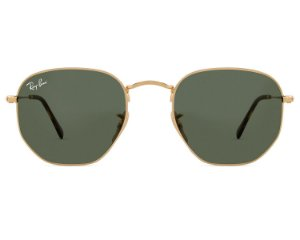 RAY BAN RB3548 HEXAGONAL VERDE / DOURADO