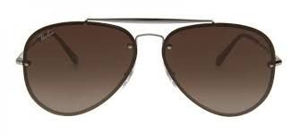 RAY BAN RB3584 BLAZE AVIADOR MARRROM