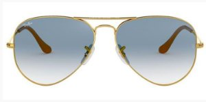 RAY BAN RB3025 AVIADOR AZUL DEGRADE