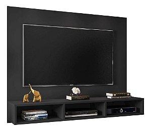 Painel Para Tv 55 Polegadas Quartzo Preto