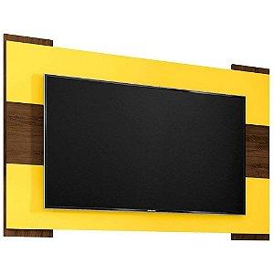 Painel para Tv 55 Polegadas Viena Cedro amarelo