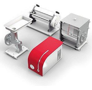 Máquinas de Fazer Macarrão Multif 04 Em 01 110v Stang Verm