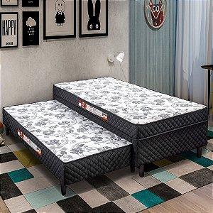 Cama Box Solteiro 88 Cm Split Box Com Bicama 78 Cm Split Bed