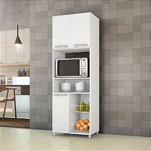 Fruteira Para Cozinha Com 03 Portas Top Line Branco New