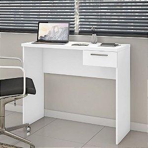 Mesa de Escritório Home Office com Gaveta Nt2000 Branco New