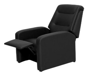 Poltrona Do Papai Reclinavel P/ Sala De Estar Classic Preto