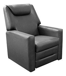 Poltrona Do Papai Reclinável Para Sala Sleep Chair Preto