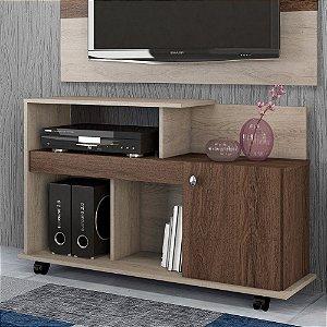 Rack Para Sala Com Espaço Para Tv 32 P Flash Carv Vie malte