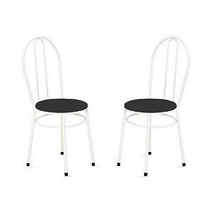 Cadeira para Cozinha 2 UN Com 02 Argolas 0.0.134