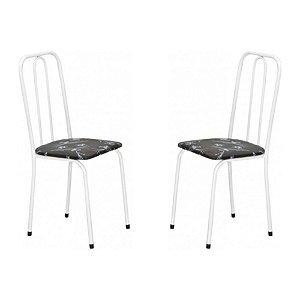 Cadeira Para Cozinha 2 UN Com Assento Reto 0.0.234