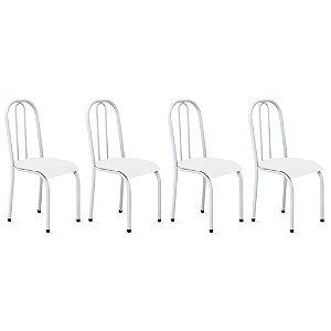 Cadeira para Cozinha 4 UN Com Assento Anatômico 0.0.104