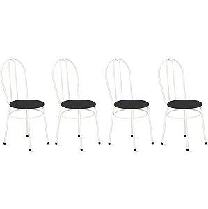 Cadeira Para Cozinha 4 UN Com 02 Argolas 0.0.134