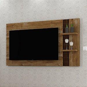 Painel Para TV Extensível P Sala Dante Dorale Conhaque