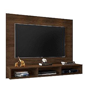 Painel Para Tv 55 Polegadas Home Suspenso Quartzo Cedro
