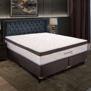 Cama Box Queen Size Com Molas Verticoil 1,58 M Sorrento