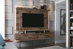 Painel Para TV Home Suspenso Limit 1.8 Deck Off White