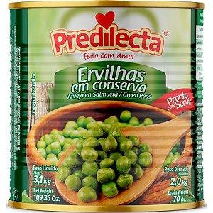 Ervilhas em conserva Predilecta Lata 2kg