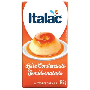 Leite Condensado Semidesnatado 395g - Italac
