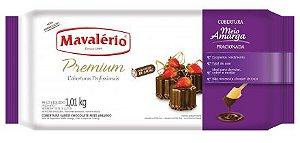 Cobertura Premium Chocolate Meio Amargo 1,010kg - Mavalerio